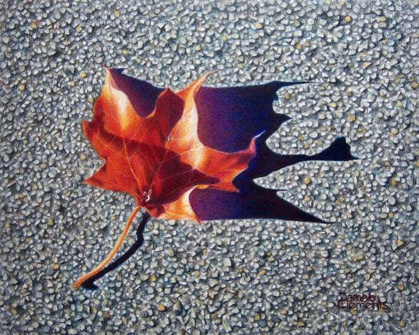 Drawing - Fall Of The Phoenix by Pamela Clements
