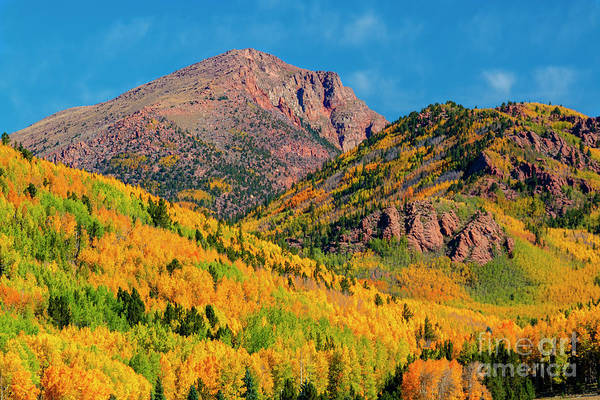 Photograph - Fall On The North Face Of Pikes Peak by Steve Krull