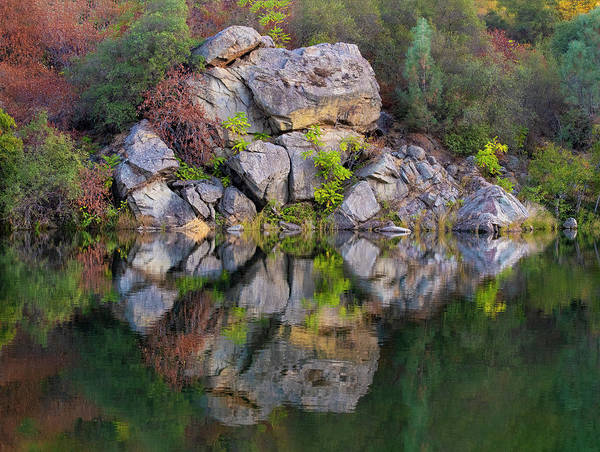 Photograph - Fall Reflections - 1 by Jonathan Hansen