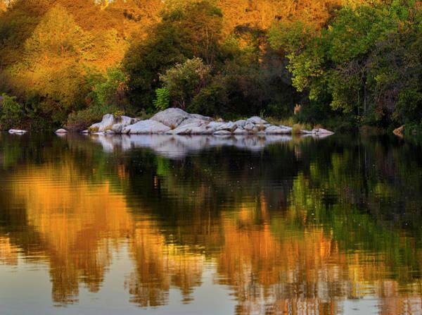 Photograph - Fall Reflections - 3 by Jonathan Hansen