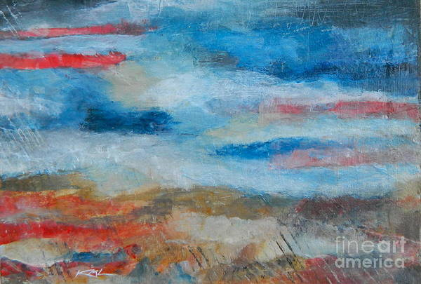 Wall Art - Painting - Fall Sky by Kate Marion Lapierre