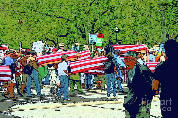 Fallen Soldiers Art Print