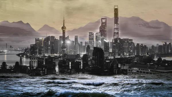 Digital Art - Falling Apart 2 by Tatiana Hallack