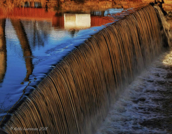 Wall Art - Photograph - Falling Towards The River by Kathi Isserman
