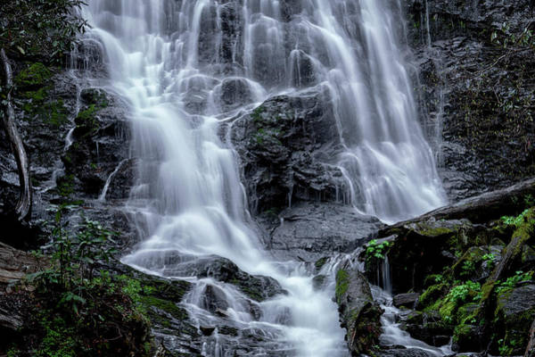 Photograph - Falling Water by Van Sutherland