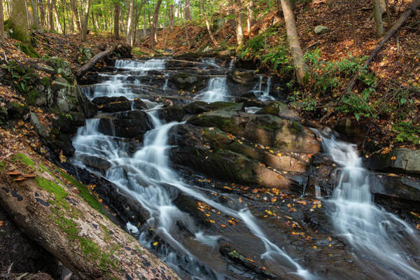 Photograph - Falling Waters In October by Jeff Severson