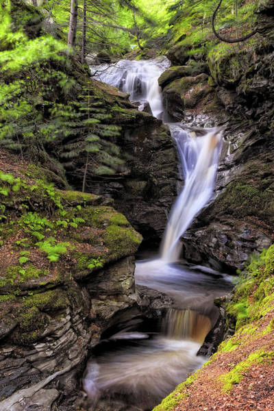 Photograph - Falls Of Acharn - Perthshire Scotland - Waterfall by Jason Politte