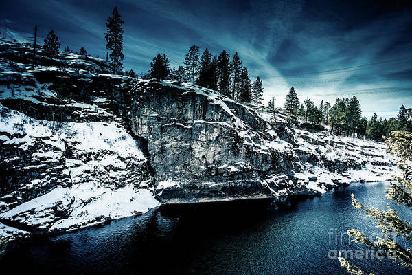 Photograph - Falls Park Winter Revisited by Matthew Nelson