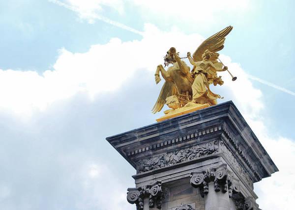 Photograph - Fames Restraining Pegasus Paris by JAMART Photography