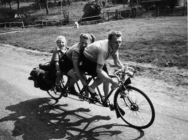 Bicycle Photograph - Family Bicycle by Haywood Magee