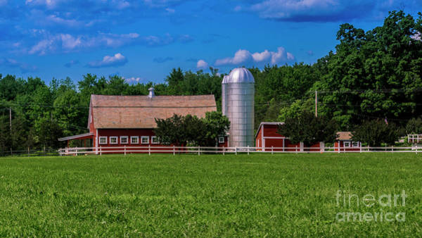 Photograph - Family Farm In Southern Vermont by Scenic Vermont Photography
