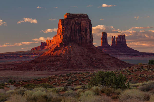 Wall Art - Photograph - Famous Buttes Of Monument Valley by Adam Jones