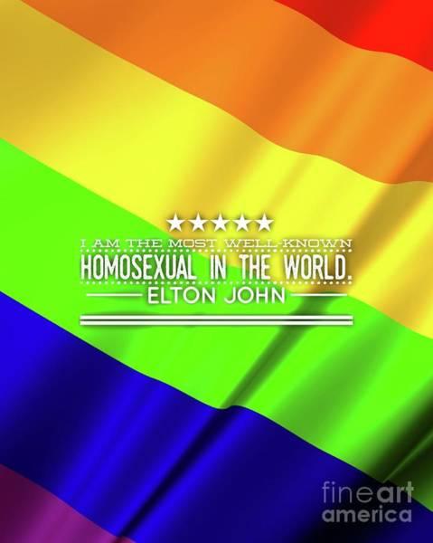 Wall Art - Digital Art - Famous Homosexual by Esoterica Art Agency