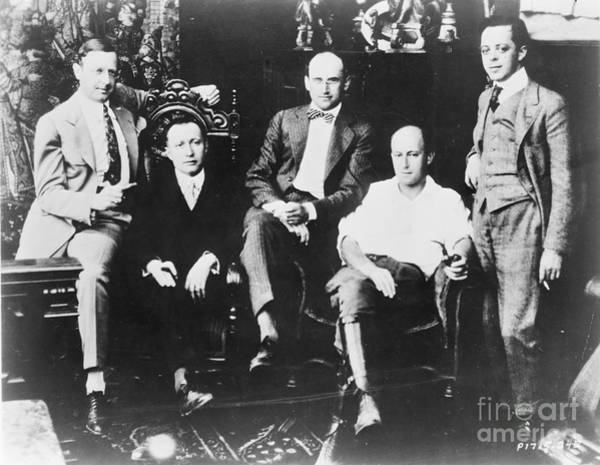 Photograph - Famous Players, C1916 by Granger