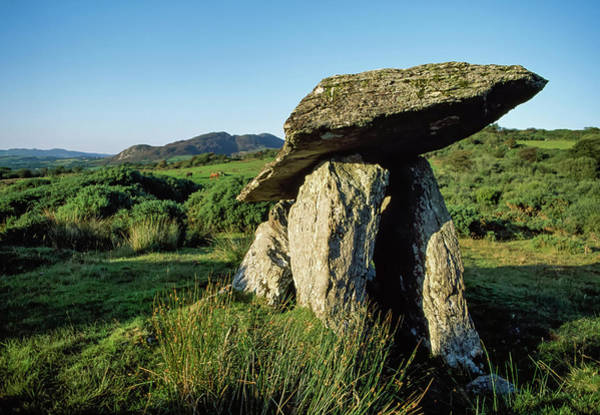 Wall Art - Photograph - Fanad, Co Donegal, Ireland  Dolmen by The Irish Image Collection