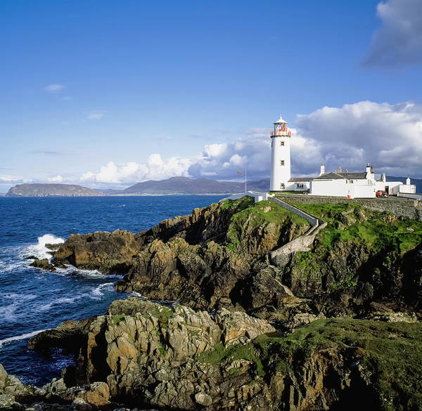 Wall Art - Photograph - Fanad Lighthouse, Co Donegal, Ireland by The Irish Image Collection