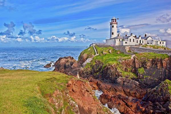 Wall Art - Photograph - Fanad Lighthouse In Donegal Ireland by Marcia Colelli