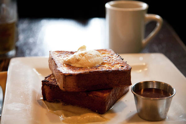 Food Photograph - Fancy French Toast by Lily Chou