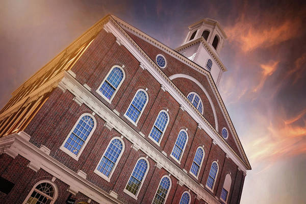 Wall Art - Photograph - Faneuil Hall Boston Massachusetts  by Carol Japp