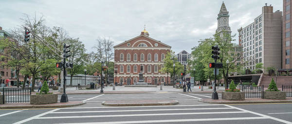 Wall Art - Photograph - Faneuil Hall Marketplace, Boston by Panoramic Images
