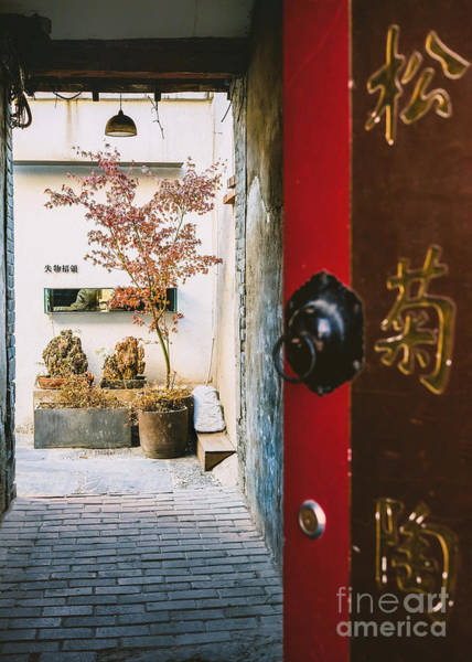 Photograph - Fangija Hutong In Beijing by Iryna Liveoak