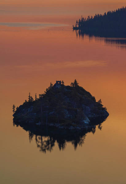 Photograph - Fannette Island At Sunrise by Jonathan Hansen