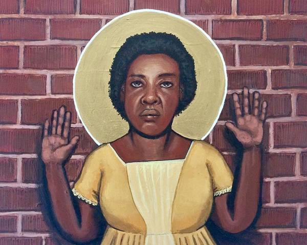 Painting - Fannie Lou Hamer by Kelly Latimore