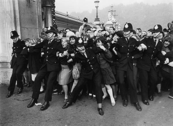 Photograph - Fans Invasion by Ted West