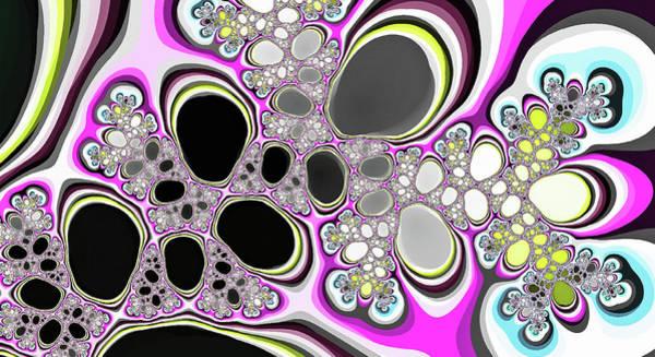 Digital Art - Fantasy Black Lakes Pink Digital Art by Don Northup