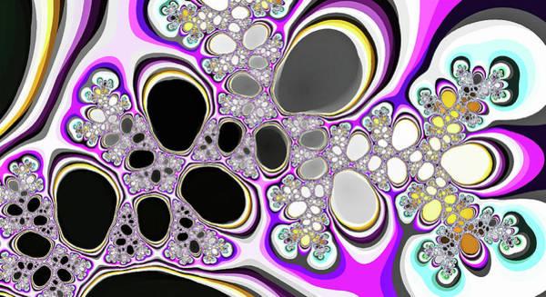 Digital Art - Fantasy Black Lakes Purple Digital Art by Don Northup