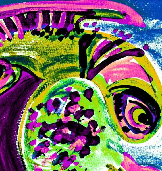 Painting - Fantasy Fish-3 by Katerina Stamatelos