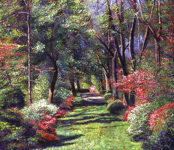 Painting - Fantasy Of Spring by David Lloyd Glover