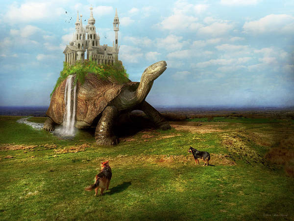 Photograph - Fantasy - Shangri-la by Mike Savad