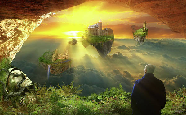 Photograph - Fantasy - The Three Kingdoms by Mike Savad