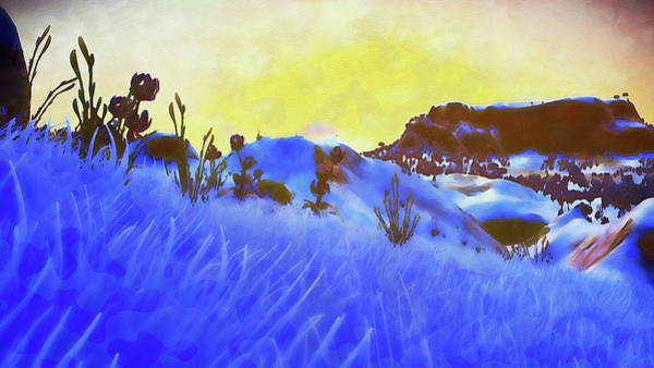Painting - Far Away From Earth - 04 by Andrea Mazzocchetti
