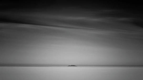 Photograph - Far Away Light by Simmie Reagor