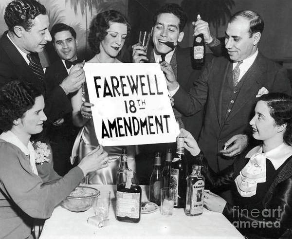 Wall Art - Photograph - Farewell 18th Amendment by Jon Neidert