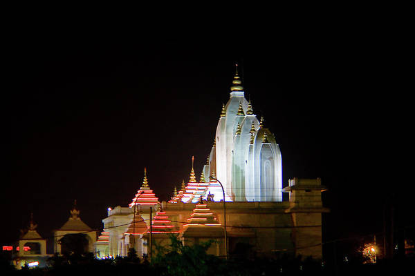 Hindu Photograph - Faridabad Temple by Tarun Chopra