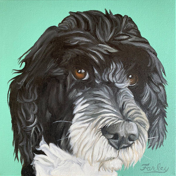 Painting - Farley by Nathan Rhoads