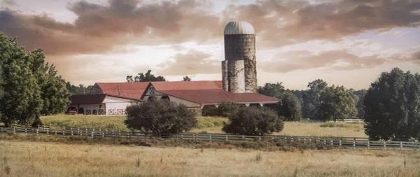 Photograph - Farm 2 #silo #rural by Andrea Anderegg