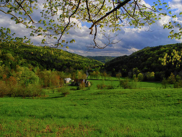 Photograph - Farm Along The Vt At by Raymond Salani III