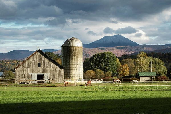Wall Art - Photograph - Farm And Hump by Dave Schmidt