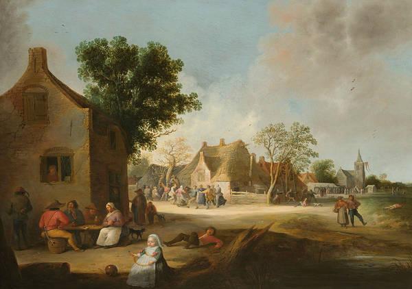 Painting - Farm Fair by Pieter de Bloot