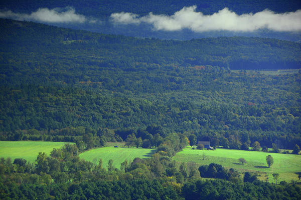 Photograph - Kellogg Conservation Center In Between The Clouds From The Ma At by Raymond Salani III