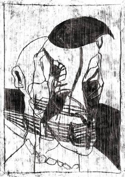 Drawing - Farm Hand by Artist Dot