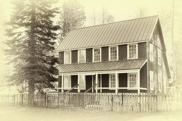 Photograph - Farm House by James Eddy