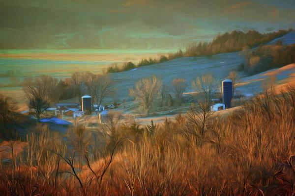 Wall Art - Photograph - Farm - In The Valley by Nikolyn McDonald