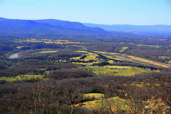 Photograph - Farm Land In Shenandoah River Valley by Raymond Salani III