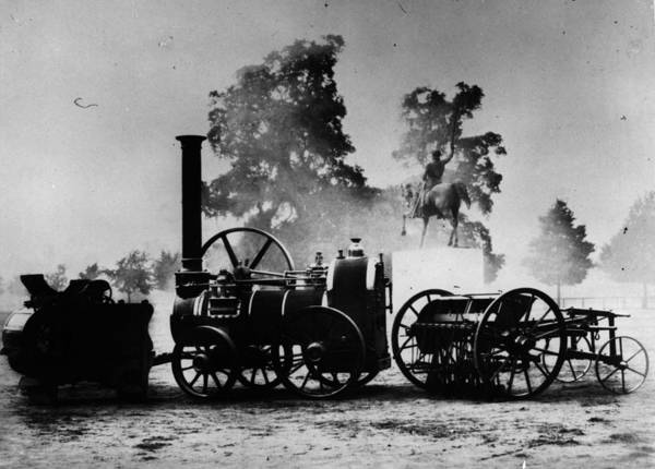 Exhibition Photograph - Farm Machinery by Hulton Archive