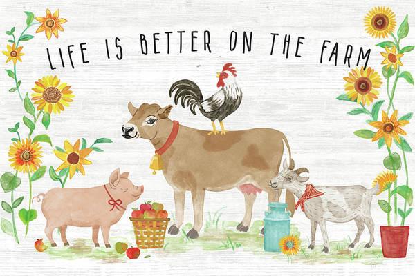 Wall Art - Painting - Farm Market I by Mary Urban